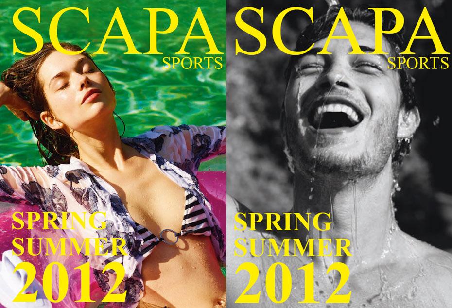 Scapa Sports Spring Summer 2012 Brazil Male Models