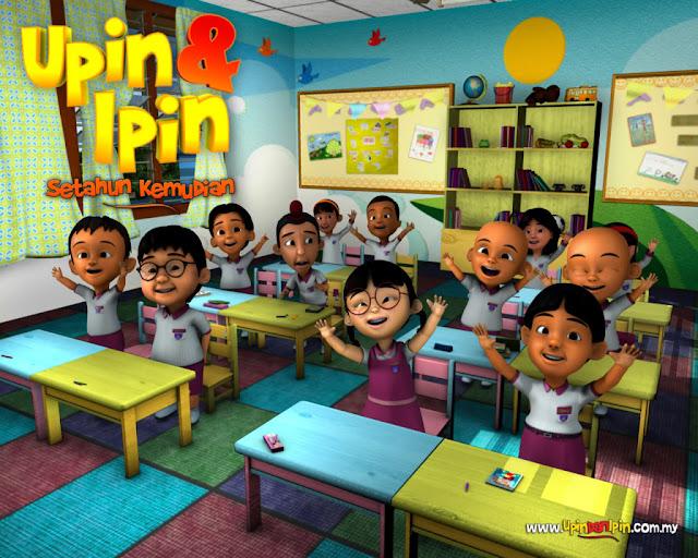 Wallpaper Upin Dan Ipin Yang Menarik!