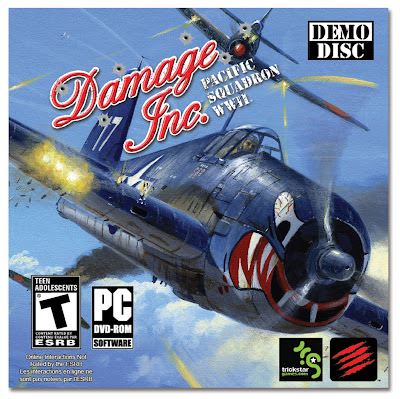 Damage Inc Pacific Squadron WWII Cover Art - We Know Gamers