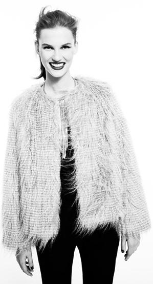 Blanco abrigos 2011 2012 mujer