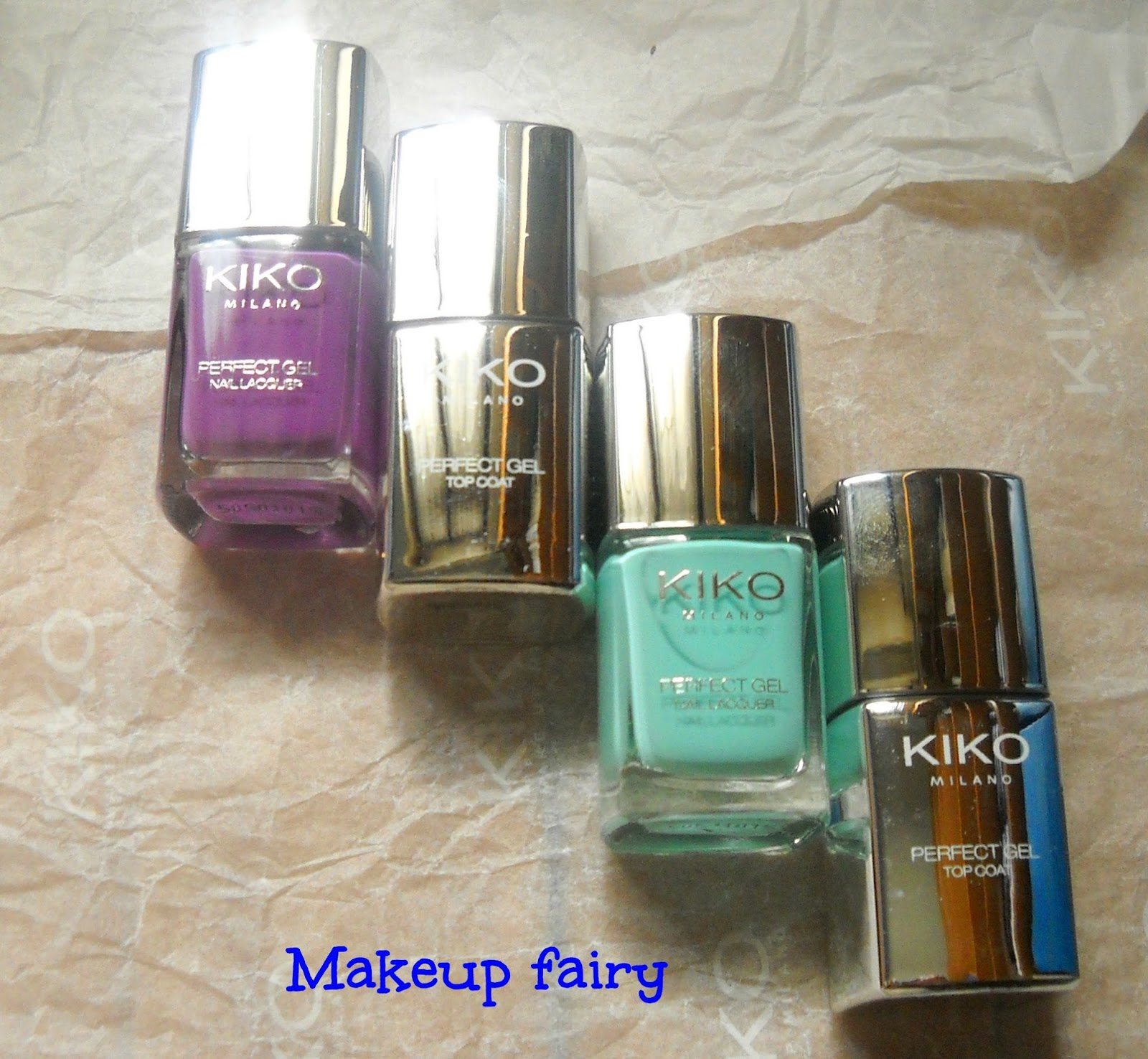 Tinklesmakeup: One Product review : Kiko perfect gel duo nail lacquer
