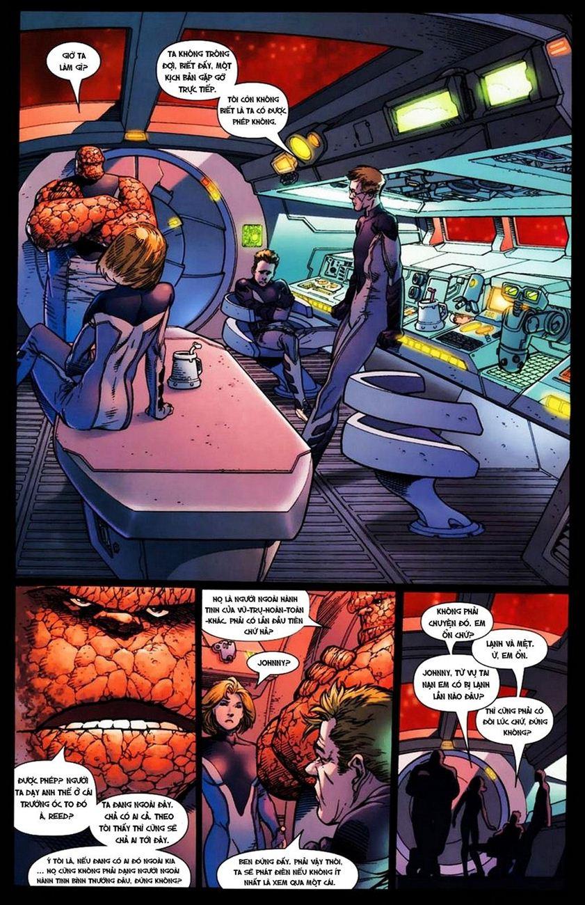 Ultimate Fantastic Four chap 15 - Trang 10