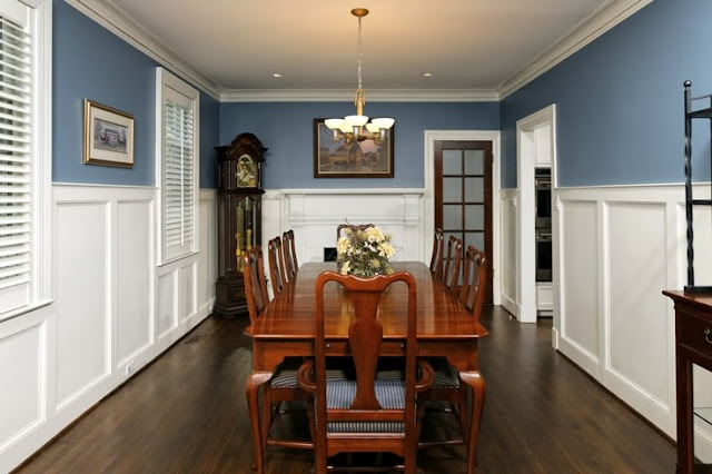 go back gallery for dining room paint ideas with chair rail
