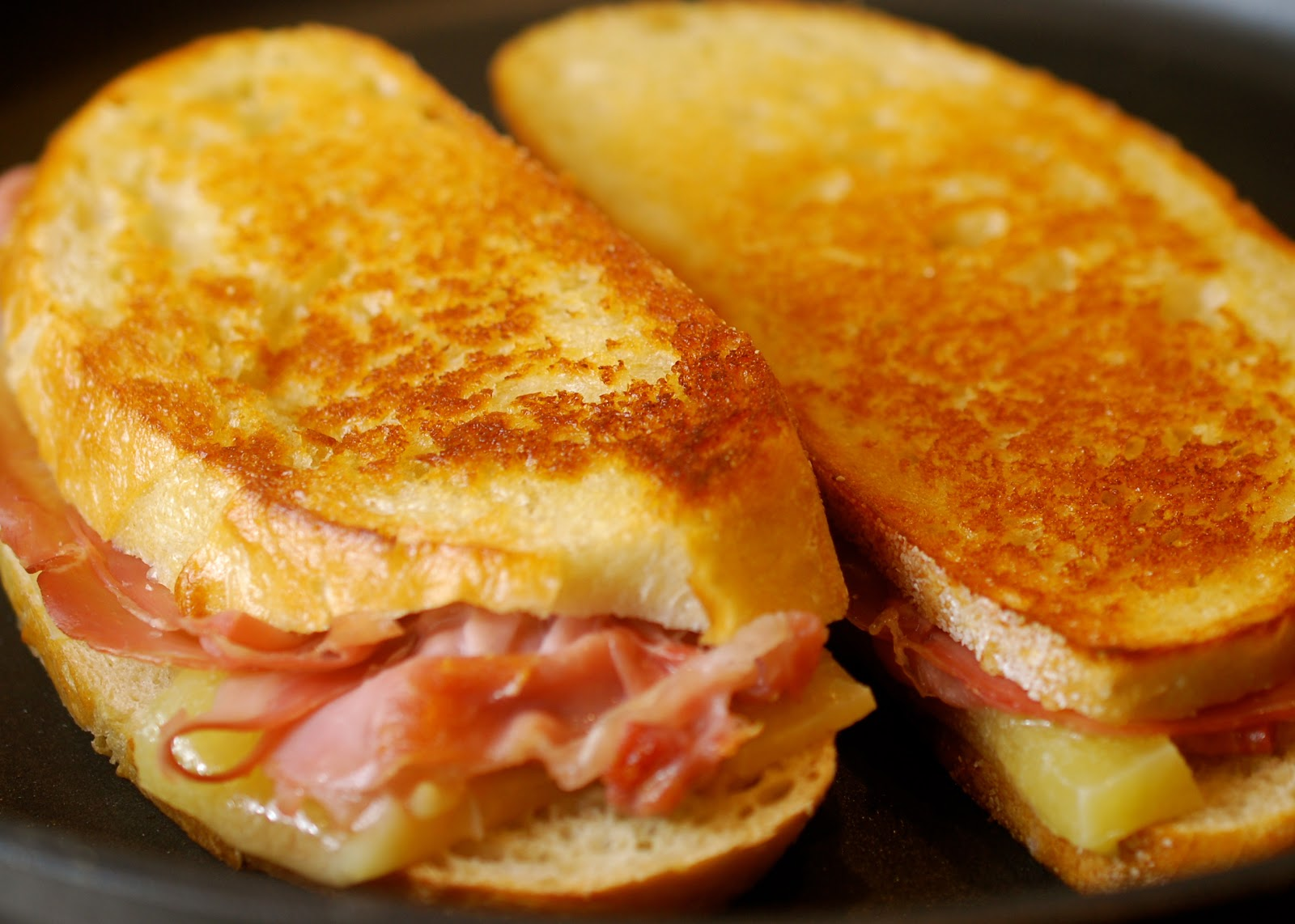 cooking with larue gourmet grilled ham amp cheese sandwich