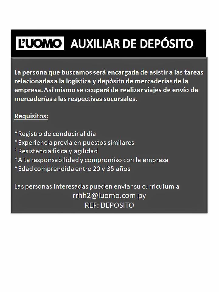 Anuncios de Empleo de la Fecha 11/04/14   💼 BOLSA DE TRABAJO ...