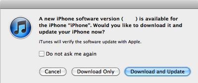 update iOS5 untuk iPad atau iPhone