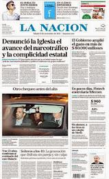 LA NACIÓN 8-11-13. LA IGLESIA ADVIRTIÓ SOBRE EL AVANCE DEL NARCOTRÁFICO EN LA ARGENTINA.
