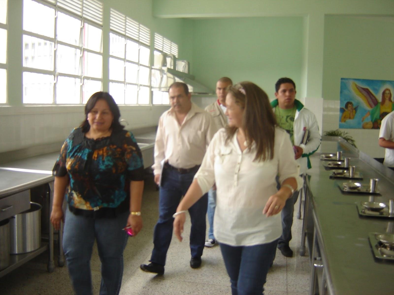Rehabilitado comedor de la escuela rafael antonio godoy for Comedor de escuela