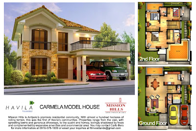 Mission Hills Antipolo | House Model Carmela
