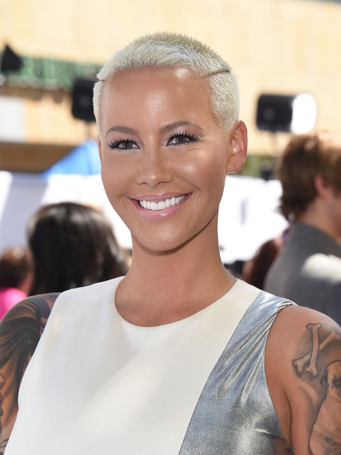 Amber Rose New Hairstyle 2015 Haircut And Hairstyles