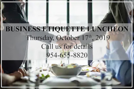 Business Etiquette Luncheon