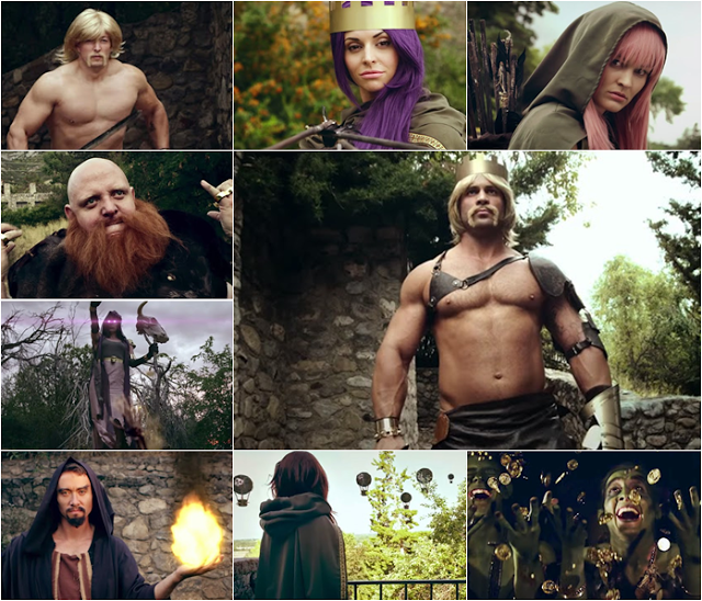 Clash Of Clans : Live Action Movie Trailer