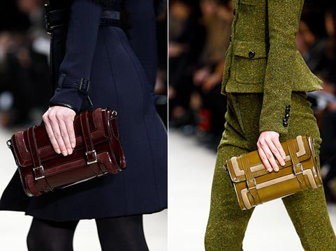 Fashion handbags of fall to winter 2011/2012: clutches