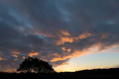 beautiful sunrise over Kodiak Island, Alaska