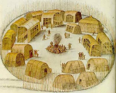 About Native Americans Houses Of The Powhatan Indians