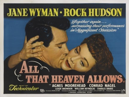 """melodrama and heaven allows When reading and thinking about melodrama in film, there's no better place to go than to douglas sirk's all that heaven allows this is the archetype of the """"mode"""" at its most generic (that is, pertaining to """"genre""""), replete with every modal motif that so comprises to this way of expression full disclosure."""