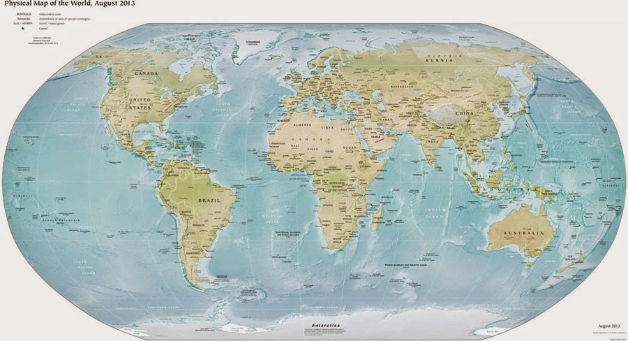 Finau British Empire Map - Victorian world map