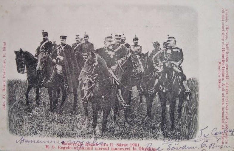 Manevrele Regale de la Ramnicu Sarat din 1901