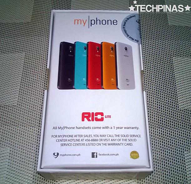 MyPhone Agua Rio Lite, MyPhone Agua Rio Lite Unboxing, MyPhone Agua Rio Lite Review