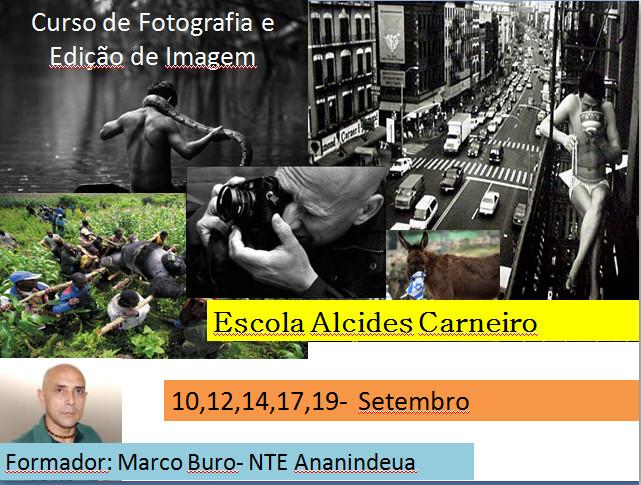 Agendado: Oficina de Fotografia e Edição d Imagem