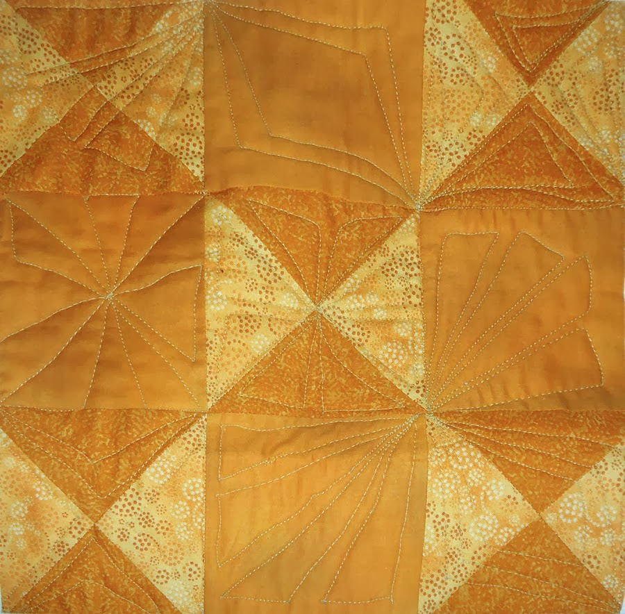 quilted block without marking
