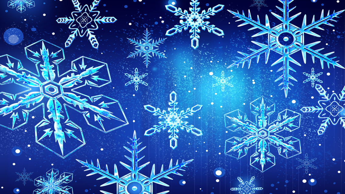 Best winter snowflakes hd wallpaper and