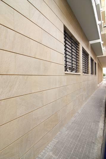 Decoracional cer mica fachadas aplacadas for Fachadas de ceramica