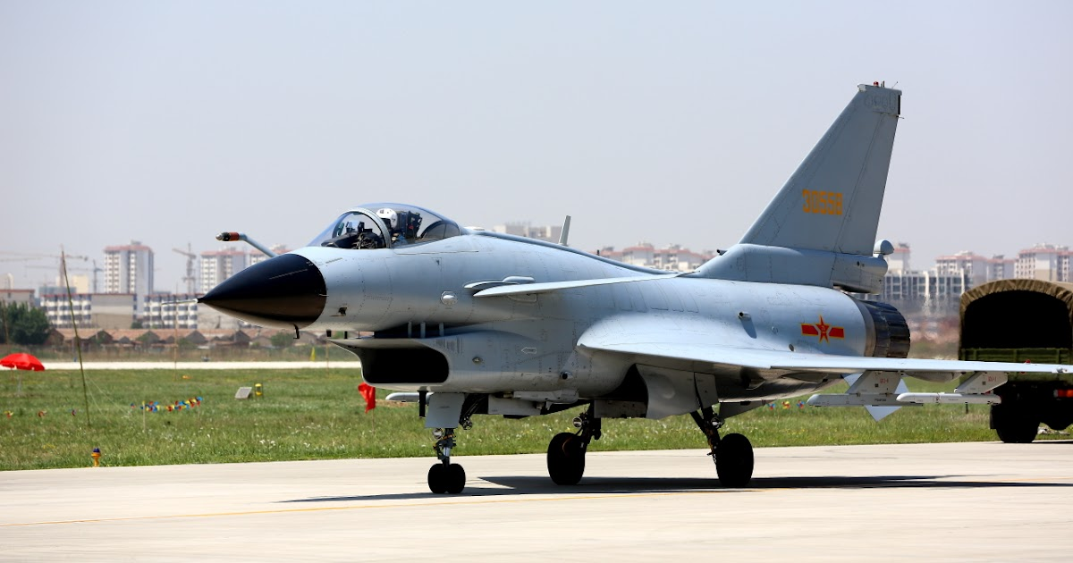 People's Liberation Army Air Force's J-10 Vigorous Dragon ...