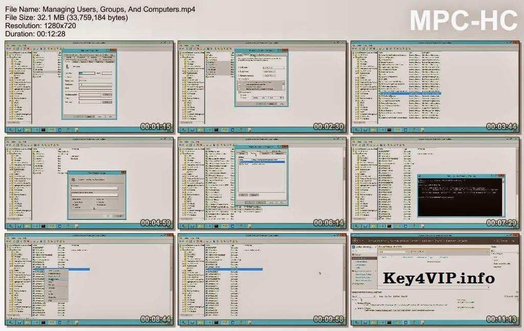 Video Hc Qun Tr Mng Microsoft Windows Server 2012 Exam 70 410