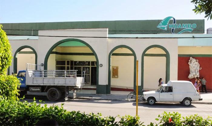 Cine Huambo, en Guantánamo