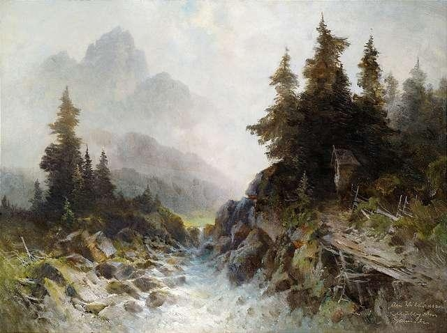 Oskar Mulley landscape paintings artwork