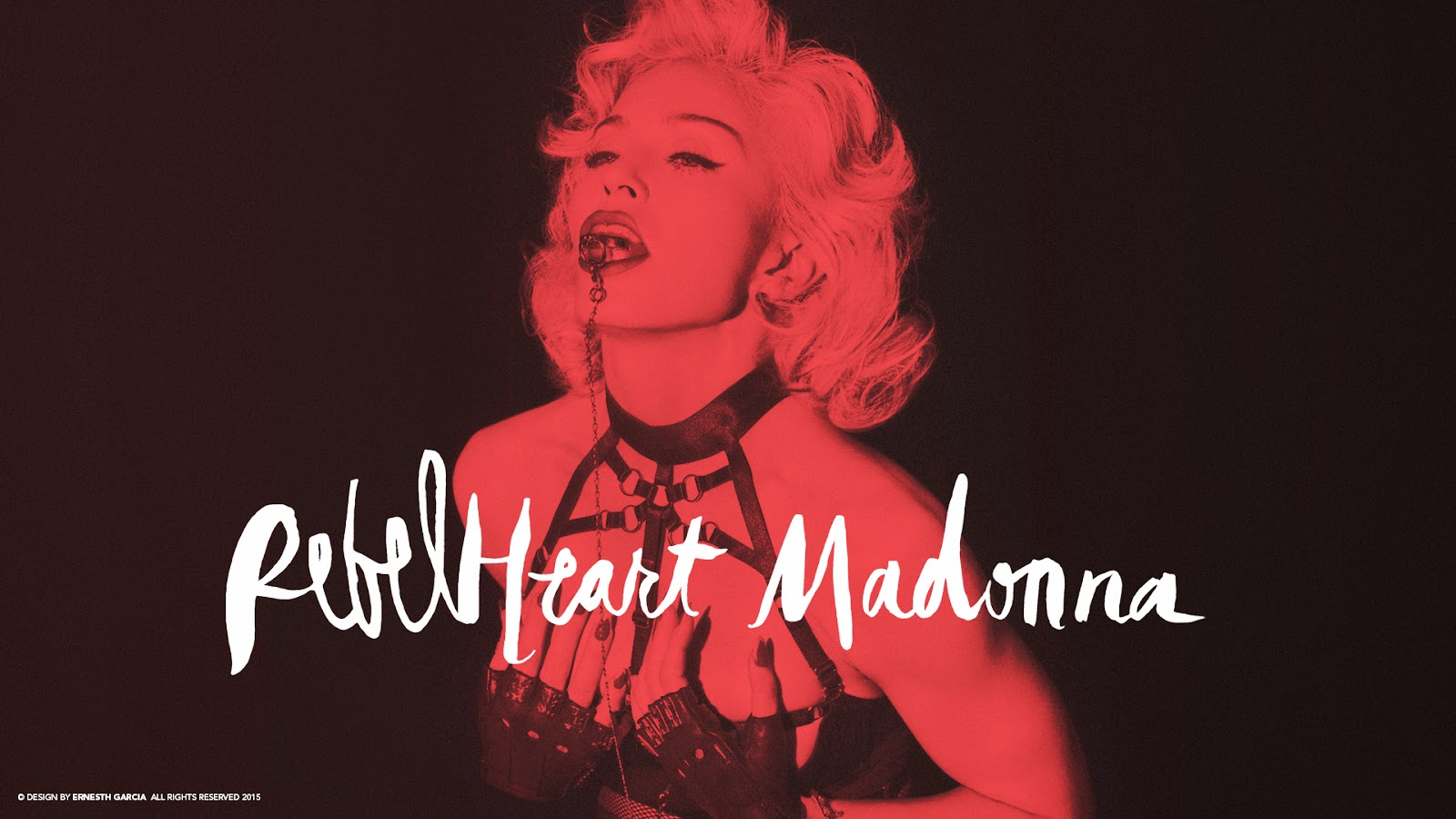 madonna fanmade covers: rebel heart - wallpaper