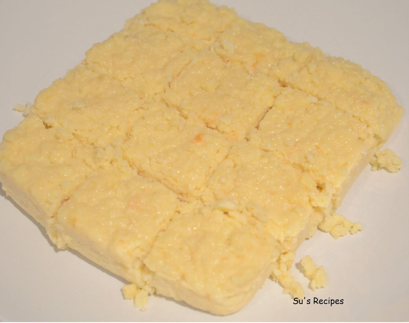 milk-based cake, kalakand