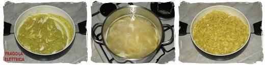 Pasta con Curry e Panna