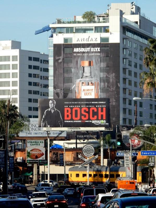 Bosch series premiere billboard