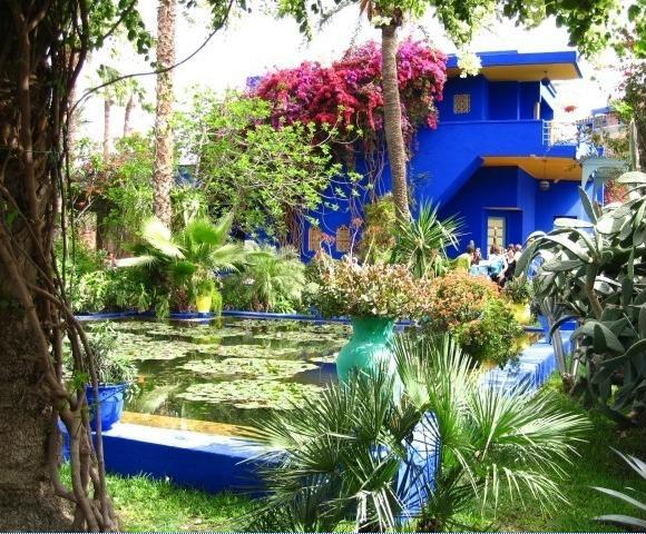 Back of house travel to do list - Jardin majorelle yves saint laurent ...