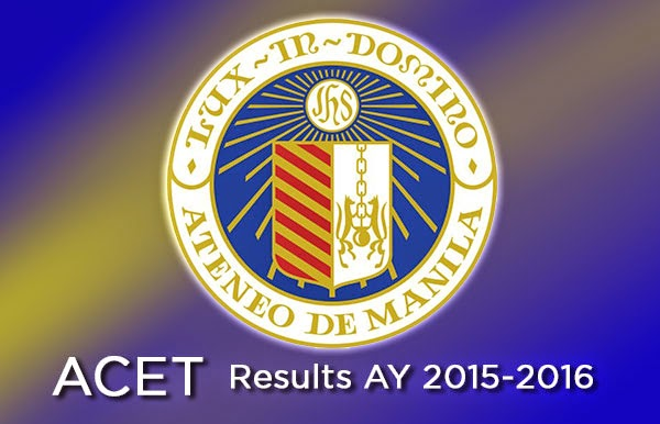 ACET Results AY 2015-2016