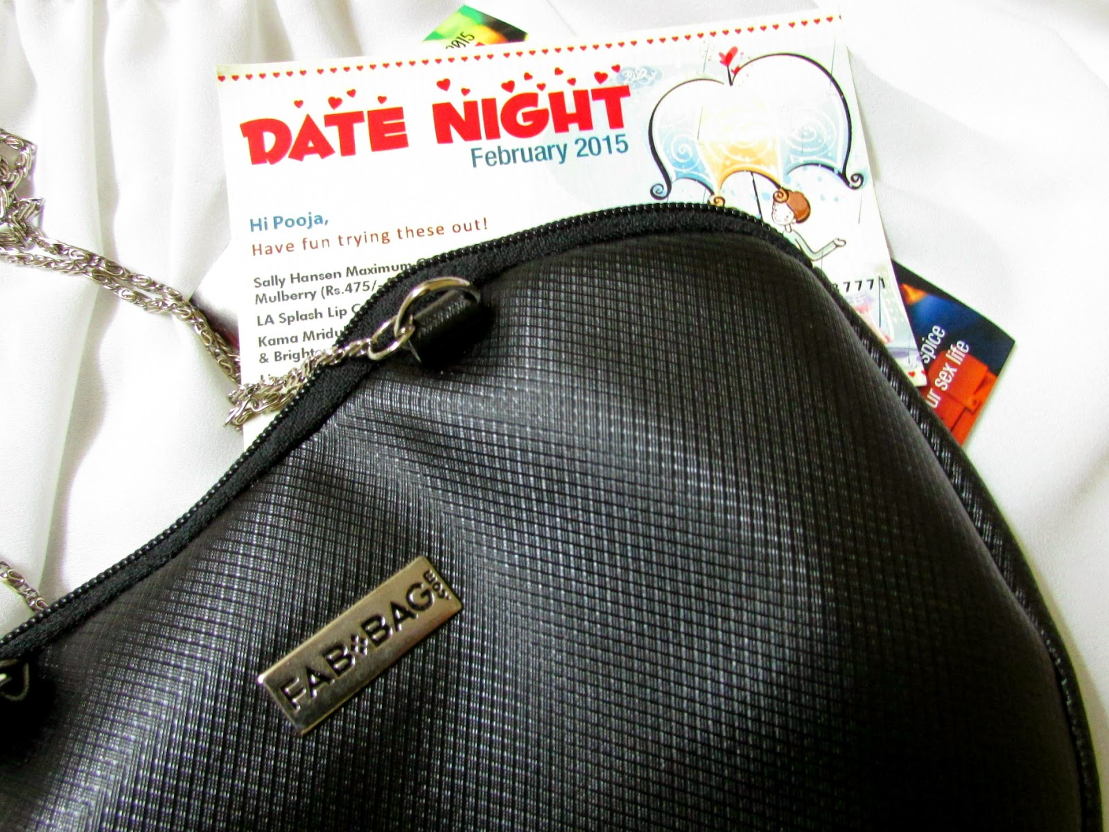 Fab Bag Dicount coupon,  Fab Bag, Fab Bag india, Fab Bag subscription, face, Febuaray Fab Bag Review, Livon Moroccan Silk Serum, LA Splash Lip Couture Lipstick Lipstick in Innocent Vixen, Sally Hansen Maximum Growth plus Nourishing Nail Color in Tender Mulberry, Karma Mridul Soap free Face Cleanser, Kama Ayurveda Rejuvenating and brightening Ayurvedic Night Cream, beauty , fashion,beauty and fashion,beauty blog, fashion blog , indian beauty blog,indian fashion blog, beauty and fashion blog, indian beauty and fashion blog, indian bloggers, indian beauty bloggers, indian fashion bloggers,indian bloggers online, top 10 indian bloggers, top indian bloggers,top 10 fashion bloggers, indian bloggers on blogspot,home remedies, how to