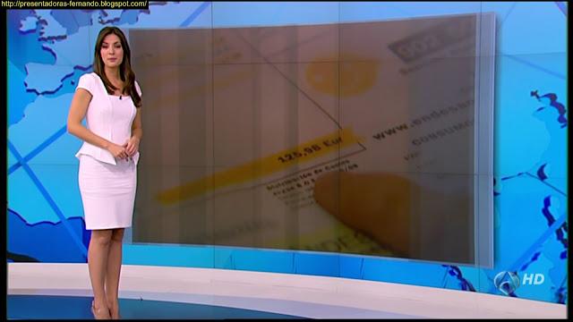 Esther Vaquero  piernas
