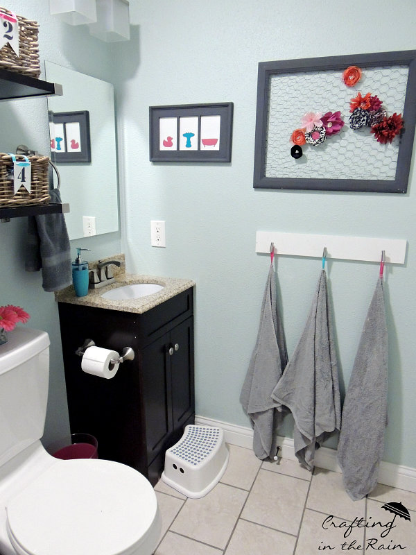 Best This bathroom is the only one we have in our house other than the master bathroom so all of our kids claim it plus it us the ones guests use
