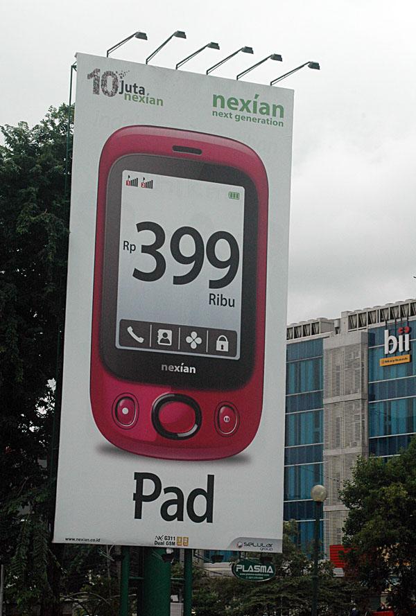 Nexian Pad G311 ad