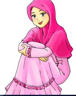 Anime Muslimah Sedih