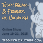 Teddy Bears & Friends on Vacation