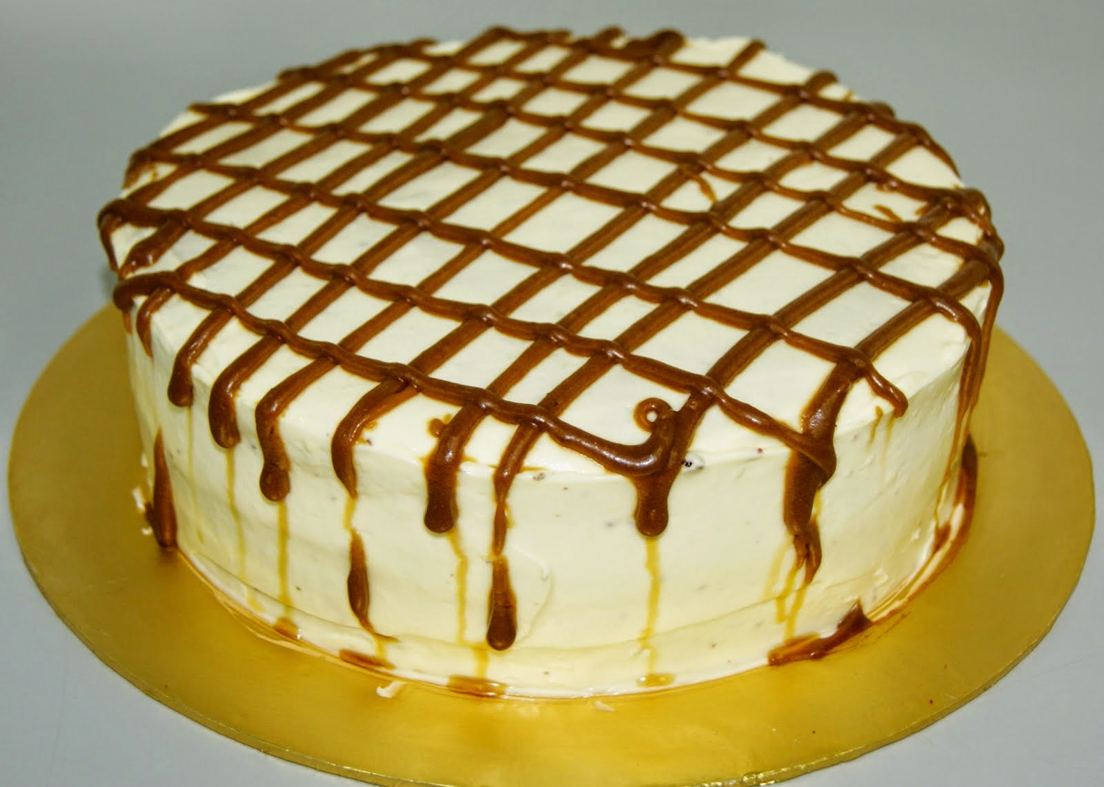 Tiramisu With Salted Caramel