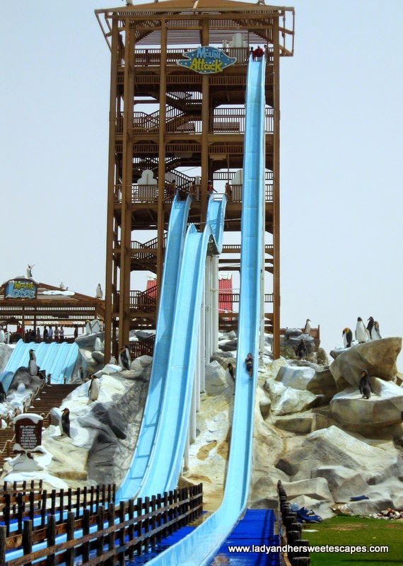 three kinds of heart pounding water slide in Iceland water park