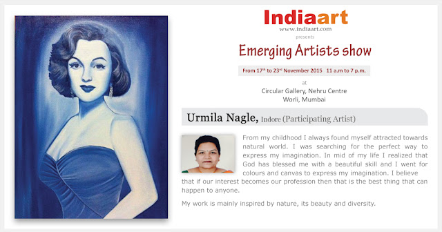Artist Statement by Urmila Nagle - Emerging Artists show by Indiaart.com