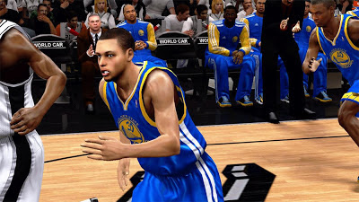 NBA 2K13 Stephen Curry Cyber Face Player Update