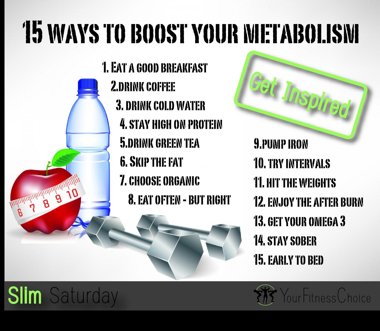 Metabolism boost green tea