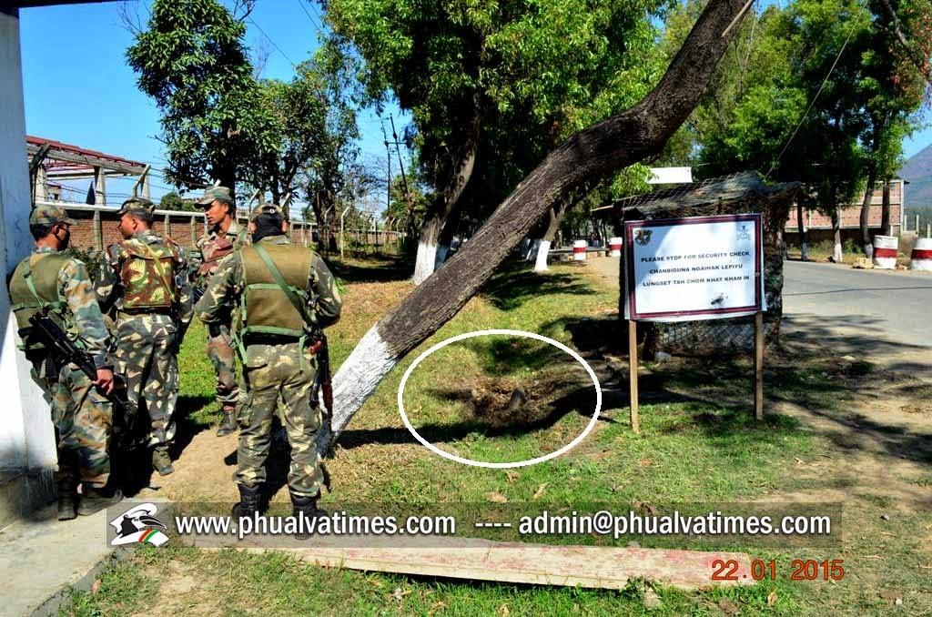Lamdangtak in A/R duty-post ah bombpuak