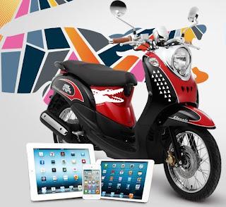 concurso promocion lacoste taf mexico 2013 premios motocicleta scooter yamaha mini ipad ipod touch